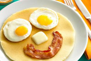 creative pancake
